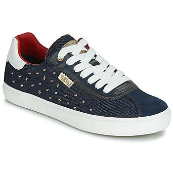 Schoenen Meisjes Lage sneakers Geox J KILWI GIRL Marine