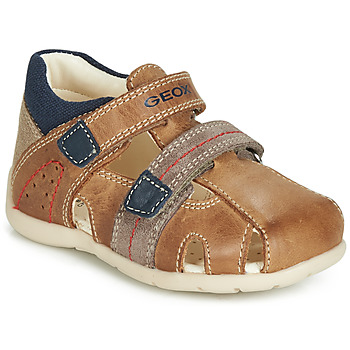 Schoenen Jongens Sandalen / Open schoenen Geox B KAYTAN Brown