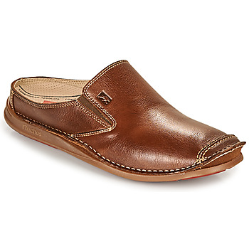 Schoenen Heren Instappers Fluchos NAUTILUS Brown