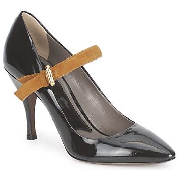 Schoenen Dames pumps Etro SHIRLEY Nero-mosterd