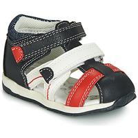 Schoenen Jongens Sandalen / Open schoenen Chicco GABRIEL Blauw / Wit / Rood