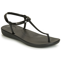 Schoenen Dames Slippers FitFlop IQUSHION SPLASH - PEARLISED  zwart