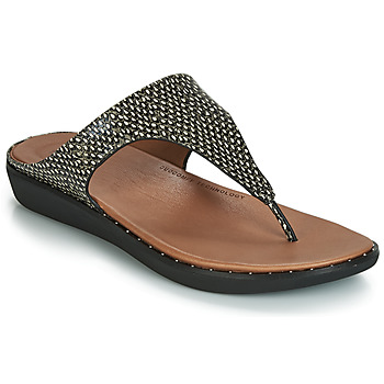 Schoenen Dames Sandalen / Open schoenen FitFlop BANDA II DOTTED-SNAKE Naturel /  snake