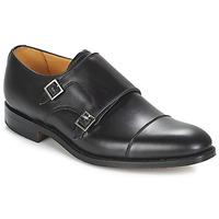 Schoenen Heren Klassiek Barker TUNSTALL Zwart