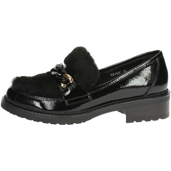 Schoenen Dames Mocassins Luciano Barachini BB165C Black