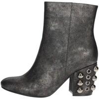 Schoenen Dames Enkellaarzen Luciano Barachini BB242V Charcoal grey