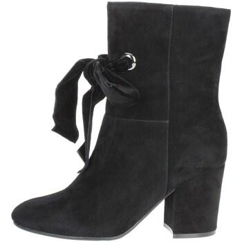 Schoenen Dames Enkellaarzen Luciano Barachini BB241A Black