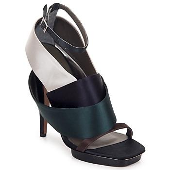 Schoenen Dames Sandalen / Open schoenen Kallisté NU-PIED 5801 Zilver
