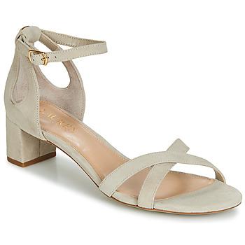 Schoenen Dames Sandalen / Open schoenen Lauren Ralph Lauren FOLLY Beige