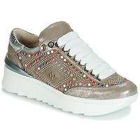 Schoenen Dames Lage sneakers Fru.it 5357-008 Beige / Paillettes