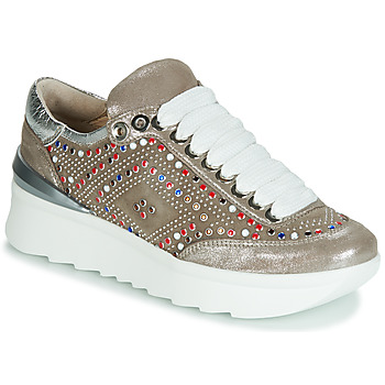 Schoenen Dames Lage sneakers Now 5357-008 Beige / Paillettes