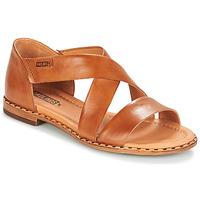 Schoenen Dames Sandalen / Open schoenen Pikolinos ALGAR W0X  camel