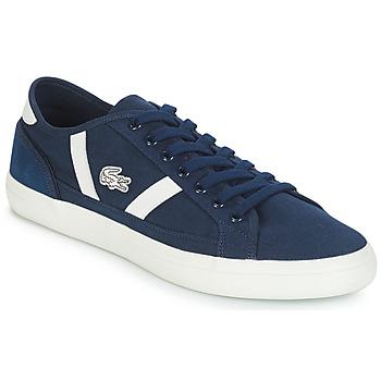 Schoenen Heren Lage sneakers Lacoste SIDELINE 119 1 Marine / Wit