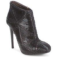 Schoenen Dames Enkellaarzen Roberto Cavalli QPS566-PN018 Zwart