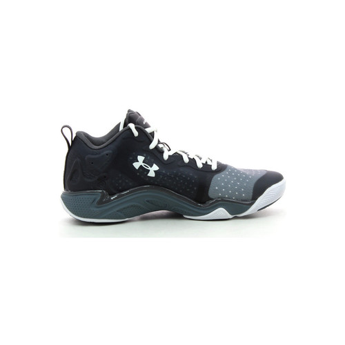 Schoenen Heren Basketbal Under Armour Spawn 2 low Zwart