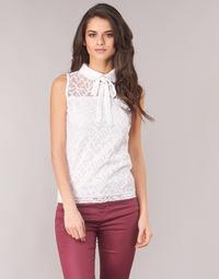 Textiel Dames Tops / Blousjes Morgan DINCO Wit