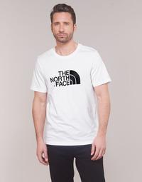 Textiel Heren T-shirts korte mouwen The North Face MEN'S S/S EASY TEE Wit