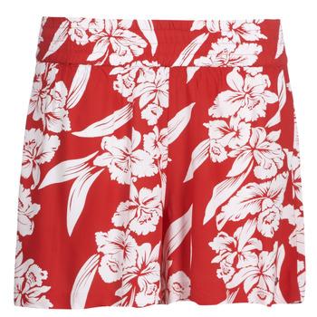 Textiel Dames Korte broeken / Bermuda's Volcom ALOHA HA SHORT Rood