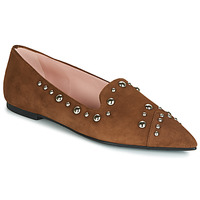 Schoenen Dames Mocassins Pretty Ballerinas ANGELIS Brown