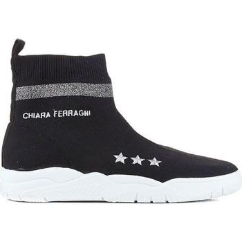 Schoenen Dames Hoge sneakers Chiara Ferragni CF1948 BLACK nero