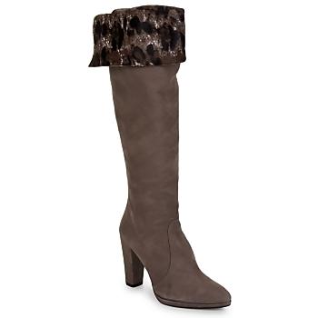 Schoenen Dames Hoge laarzen Stuart Weitzman ZOOKEEPER STEEN