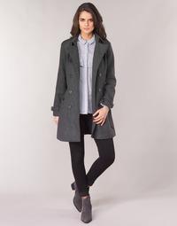 Textiel Dames Mantel jassen Casual Attitude HAIELLI Grijs