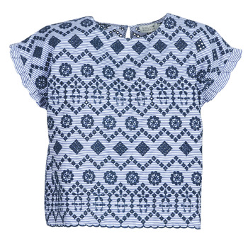 Textiel Dames Tops / Blousjes Molly Bracken MOLLIUTE Marine