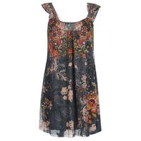 Textiel Dames Korte jurken Desigual NIELS Grijs