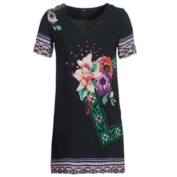 Textiel Dames Korte jurken Desigual BARTA Zwart