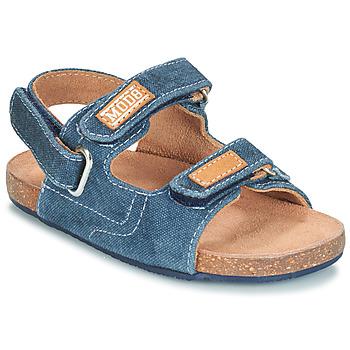Schoenen Jongens Sandalen / Open schoenen Mod'8 KORTIS Blauw / Jean