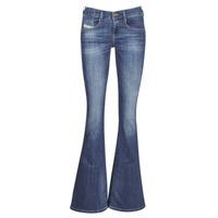 Textiel Dames Bootcut jeans Diesel EBBEY Blauw
