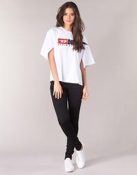 Textiel Dames Skinny Jeans Diesel SLANDY Zwart / 069ef