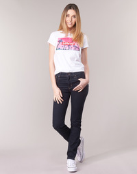 Textiel Dames Straight jeans Levi's 724 HIGH RISE STRAIGHT  to / Thee / Negen