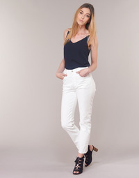 Textiel Dames Straight jeans Levi's 501 CROP In / Thee / Clouds