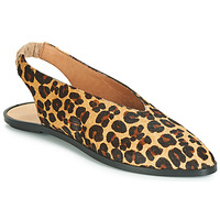 Schoenen Dames Ballerina's Jonak APIO Leopard