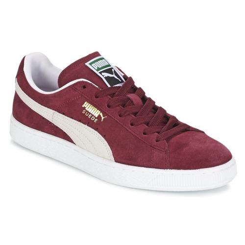 Schoenen Lage sneakers Puma SUEDE CLASSIC Bordeaux