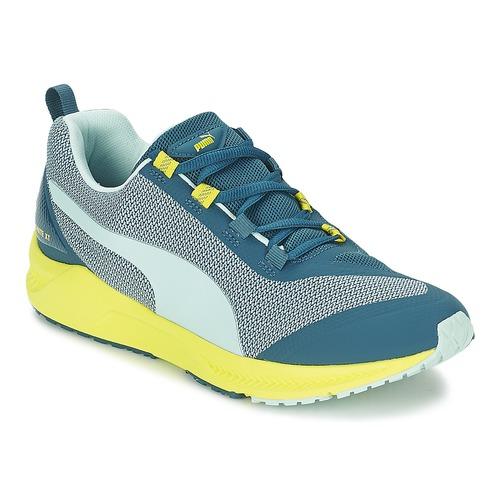Schoenen Dames Running / trail Puma IGNITE XT Blauw / Geel