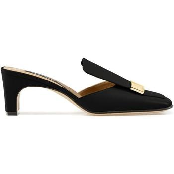 Schoenen Dames Slippers Sergio Rossi A78000MNAN07110_1000 nero
