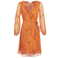 Textiel Dames Lange jurken Cream ANA Orange