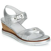 Schoenen Dames Sandalen / Open schoenen Regard RAXALI V3 ECLAT ARGENT Zilver