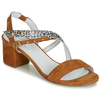 Schoenen Dames Sandalen / Open schoenen Regard REFTA V1 ANTE CAMEL Brown