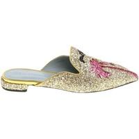 Schoenen Dames Klompen Chiara Ferragni CF1842 GLITTER ORO oro