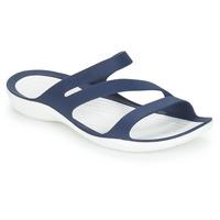 Schoenen Dames Sandalen / Open schoenen Crocs SWIFTWATER SANDAL W Marine