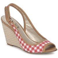 Schoenen Dames Sandalen / Open schoenen StylistClick INES Jude / Naturel / Rood