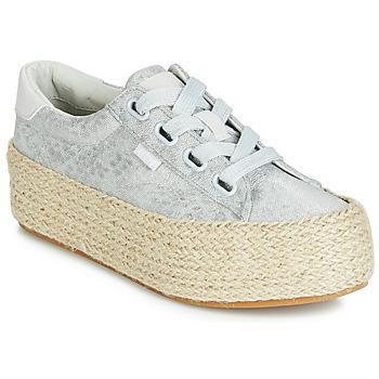 Schoenen Dames Lage sneakers MTNG WANDA Zilver