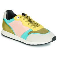 Schoenen Dames Lage sneakers MTNG HANNA Roze / Geel / Turquoise