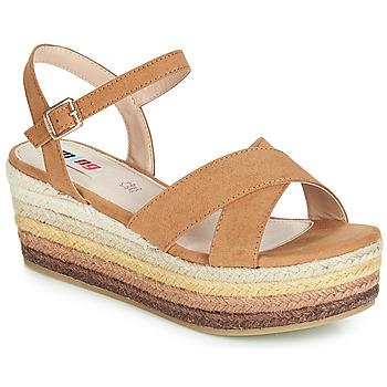 Schoenen Dames Sandalen / Open schoenen MTNG SOCOTRA3 Brown