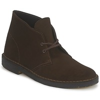 Schoenen Heren Laarzen Clarks DESERT BOOT Brown