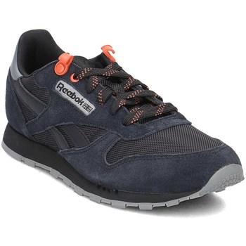 Schoenen Kinderen Lage sneakers Reebok Sport Classic Leather Noir