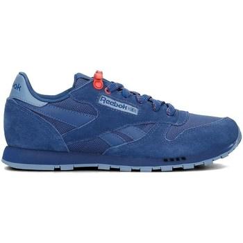 Schoenen Kinderen Lage sneakers Reebok Sport Classic Leather Bleu